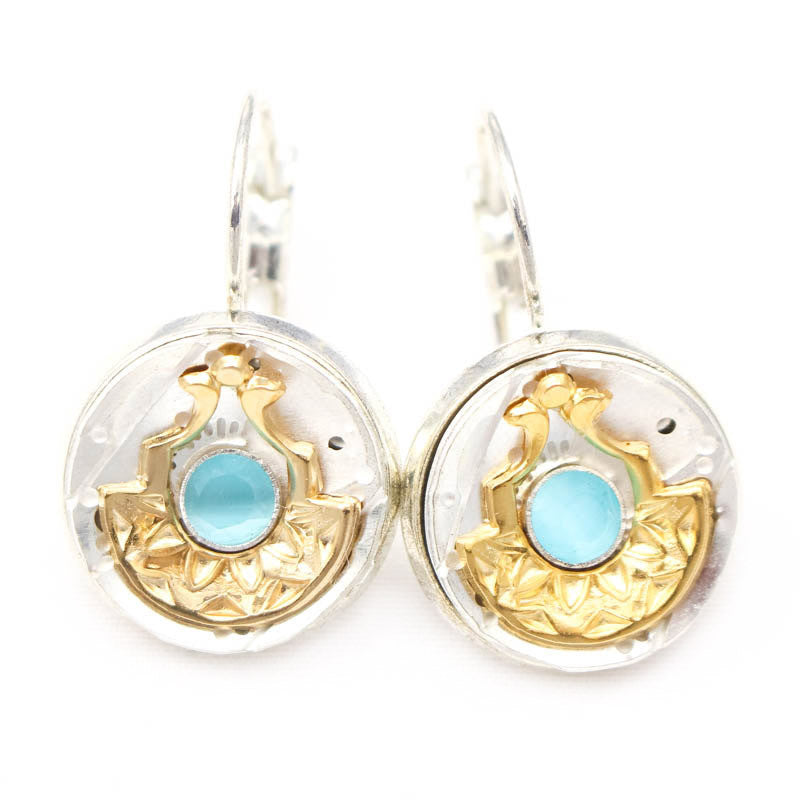 Blue Go Little Queenie Earrings by Wanna Buy A Watch?