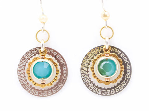 Blue Motion Detector Earrings by Wanna Buy A Watch?