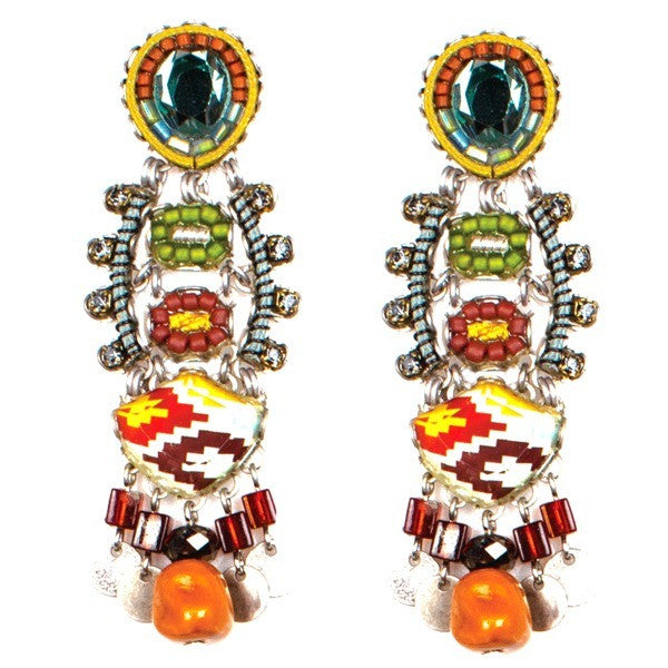 Navajo Princess Large Classic Collection Earrings by Ayala Bar