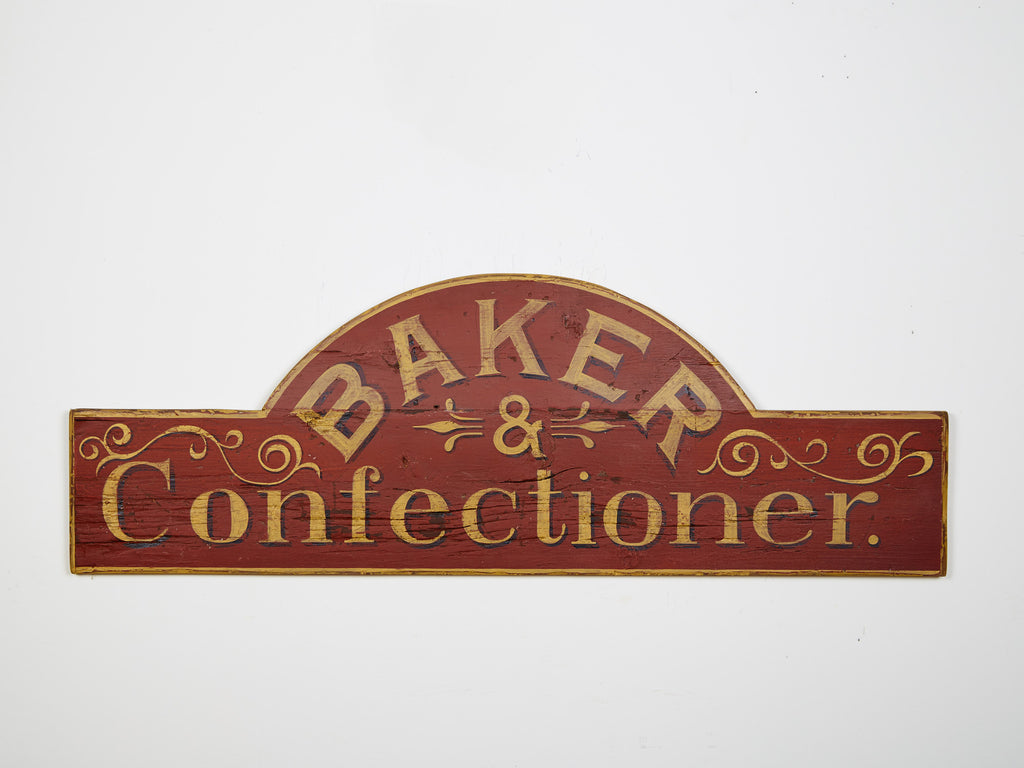 Baker-Confectioner in Red Americana Art