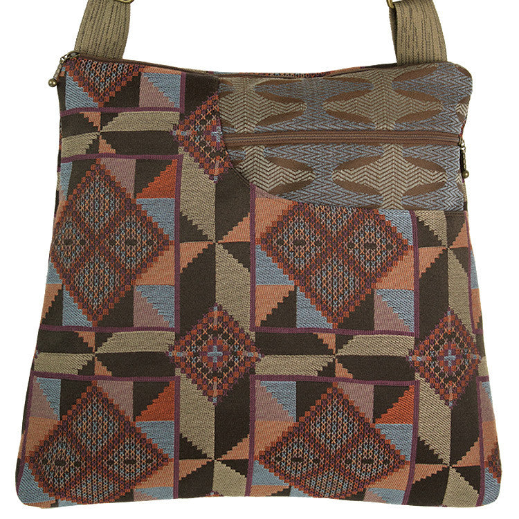 Maruca Worker Bee Handbag in Quilt Earth