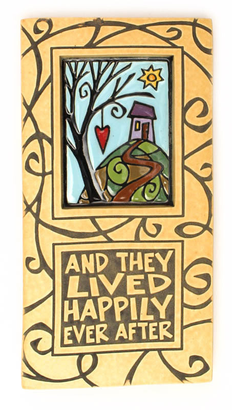 Happily Ever After Large Ceramic Tile