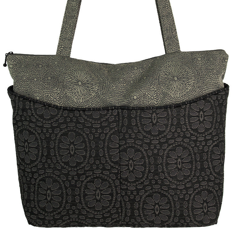 Maruca Tote Bag in Sari Black