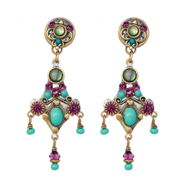 Turkish Bazaar Two Part Design with Drop Earrings by Michal Golan