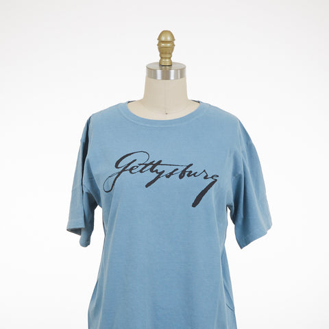 Lincoln's Script Gettysburg T-Shirt - Multiple Colors and Sizes