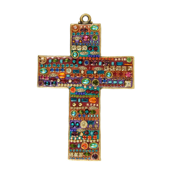 Multi-Bright Large Cross by Michal Golan