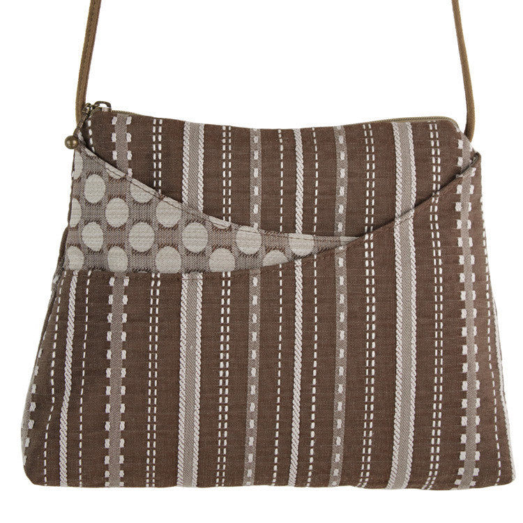 Maruca Sparrow Handbag in Ticking
