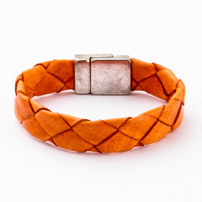 Blissful Fall Leather Bracelet