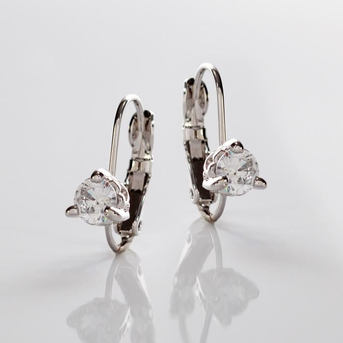 Capelas 1 Carat Prong Set Earrings by John Medeiros