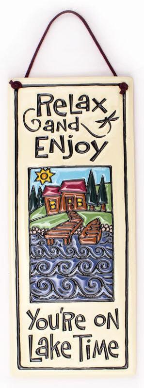 Lake Time Ceramic Tile