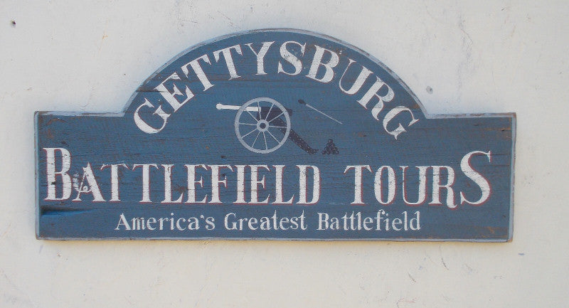 Gettysburg Battlefield Tours Round Top with Canon Americana Art