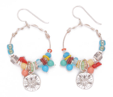 Brilliant Explosion A Earrings by Desert Heart