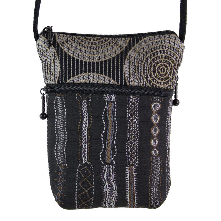Maruca Sprout Handbag in Stitch Black