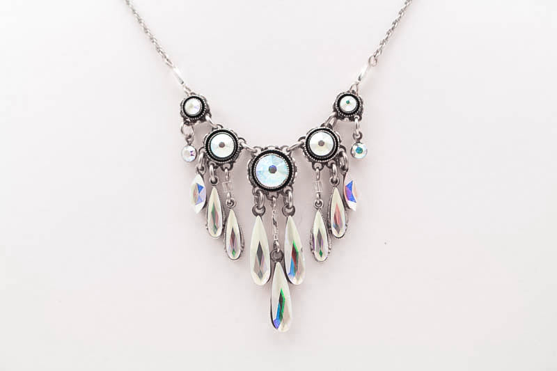 Aurora Borealis Daphne Water Necklace by Firefly Jewelry