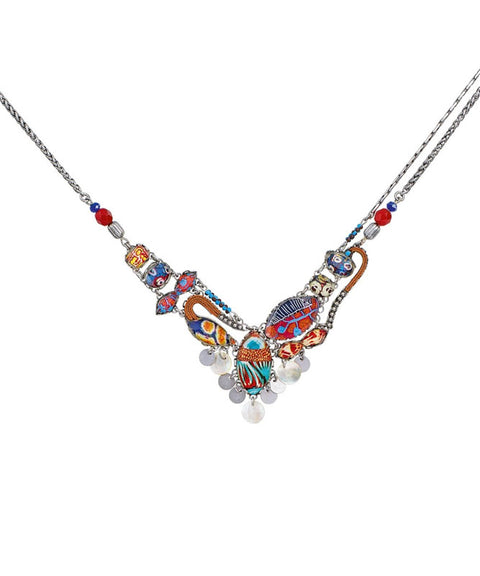 Afro-Desia Seabed Necklace by Ayala Bar