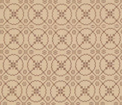 Curious Apprentice King Coverlet in Brown