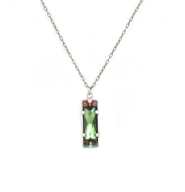 Erinite Crystal Pendant by Firefly Jewelry