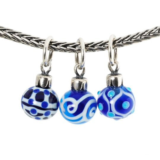 Blue Christmas Decoration by Trollbeads