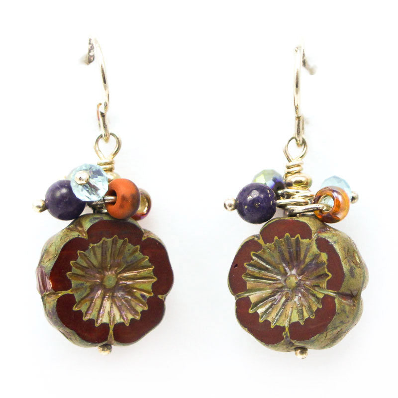 Canyon Flower Earrings by Desert Heart