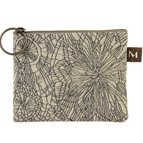 Maruca Coin Purse in Doodle Slate