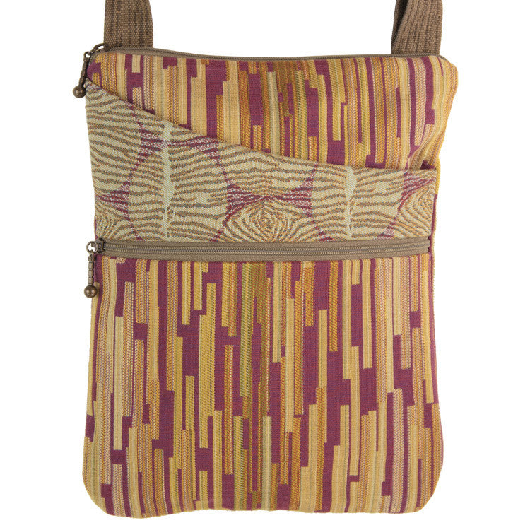Maruca Pocket Bag in Boxcar Plum