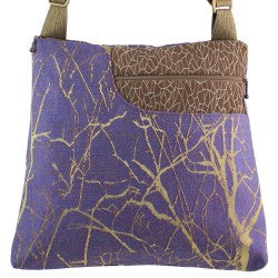 Maruca Worker Bee Handbag in Branch Wisteria