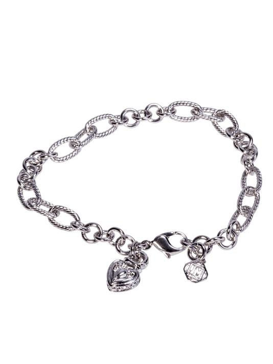 7 inch Link Chain Bracelet with Charm by John Medeiros