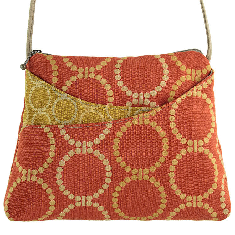 Maruca Sparrow Handbag in Linked Orange