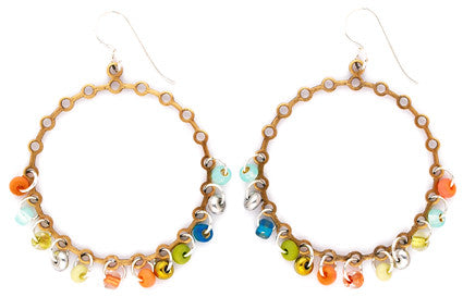 Clementine Hoop Earrings by Desert Heart
