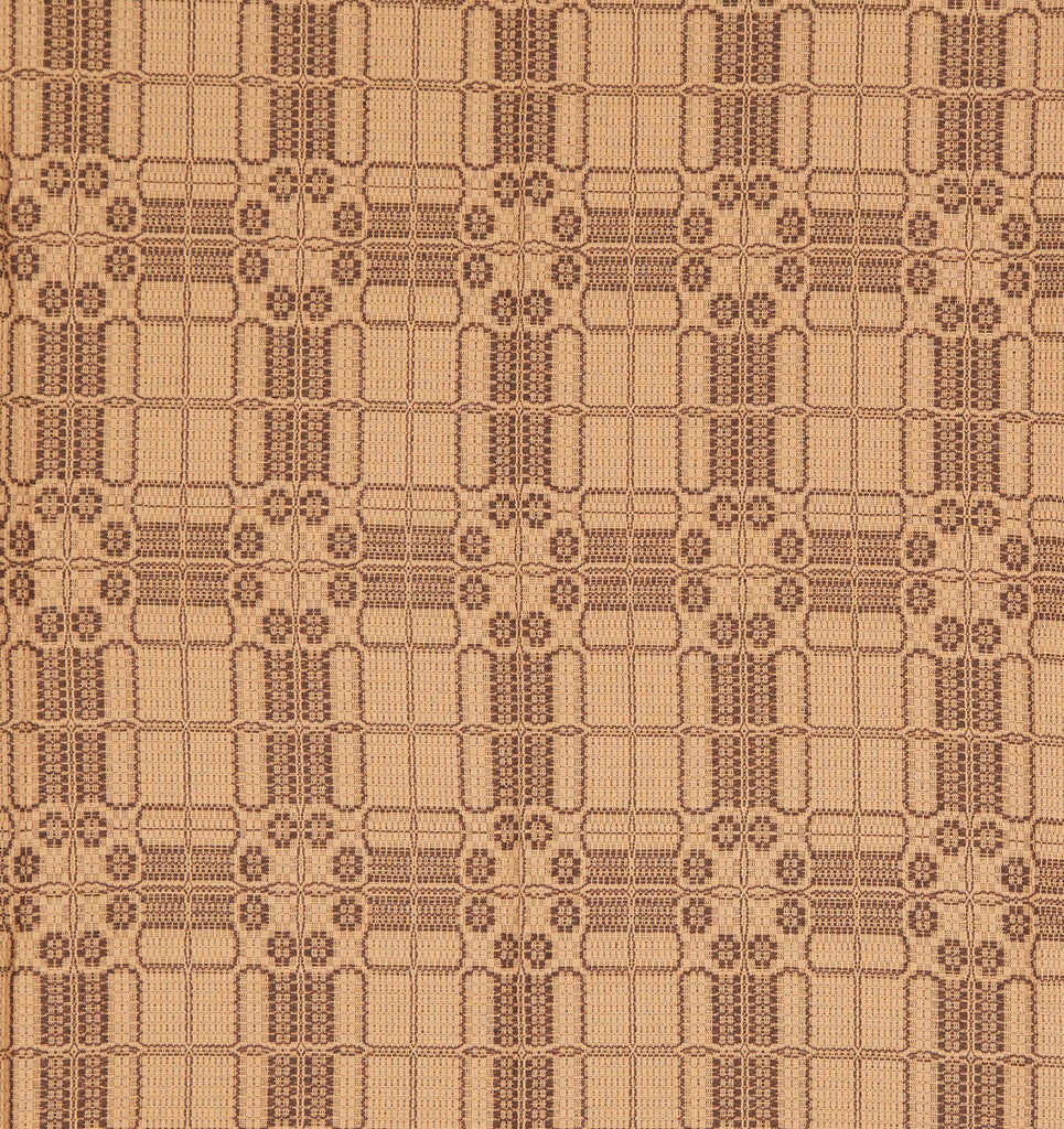 Potter's Hollow Table Square in Tan with Brown