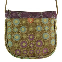 Maruca Village Handbag in Embossed Olive