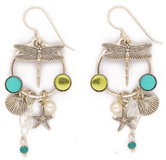 Dragoon Lagoon Earrings by Desert Heart