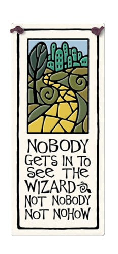 See The Wizard Ceramic Tile