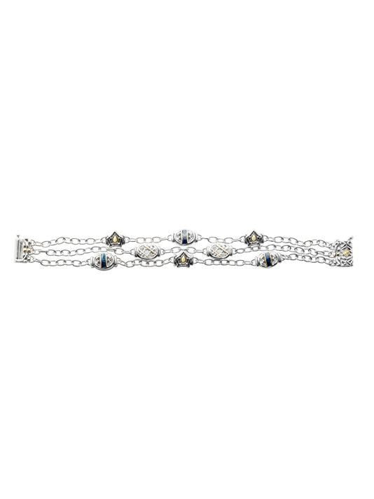 Anvil - Timeless Triple Strand Bracelet by John Medeiros