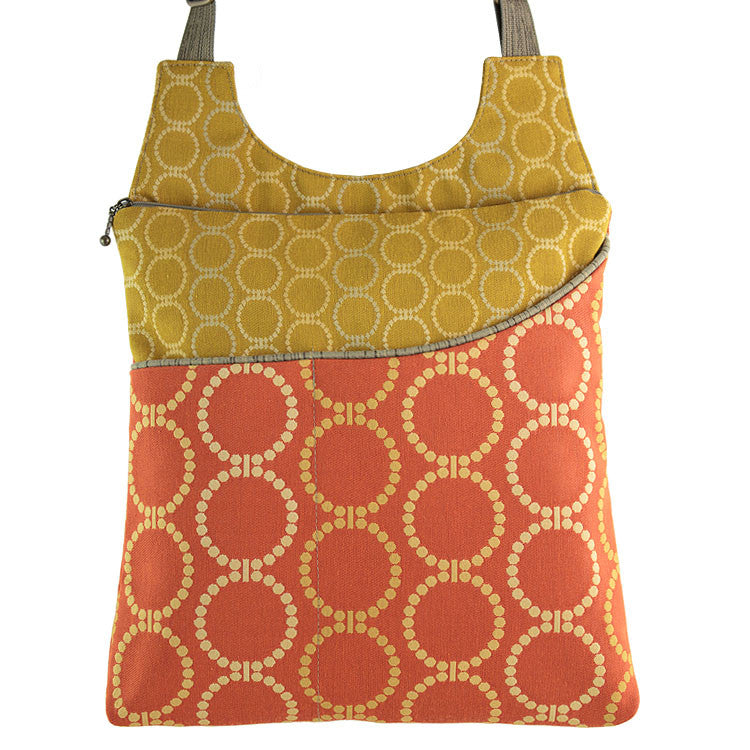 Maruca Cafe Sling Handbag in Linked Orange