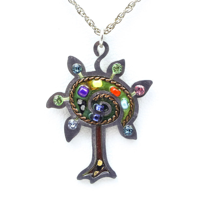Blossoming Tree of Life Necklace