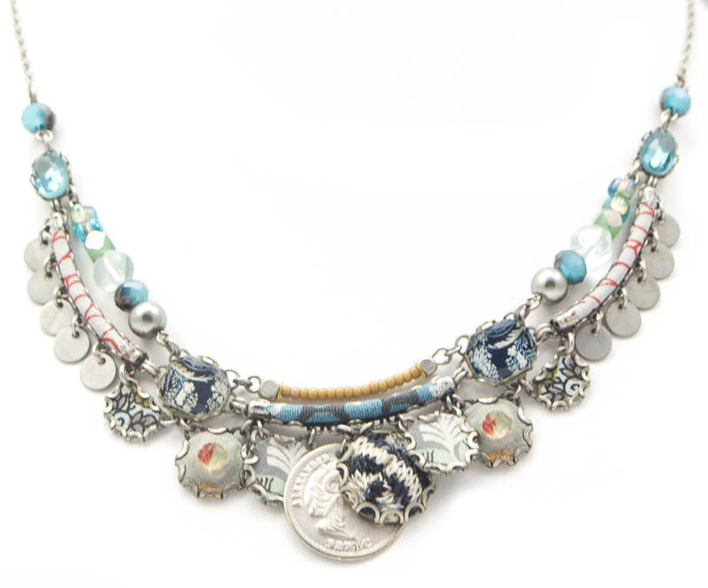 Cerulean Frost Hip Collection Necklace by Ayala Bar