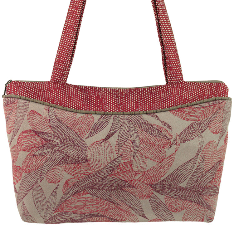 Maruca Andie Handbag in Kelp Red