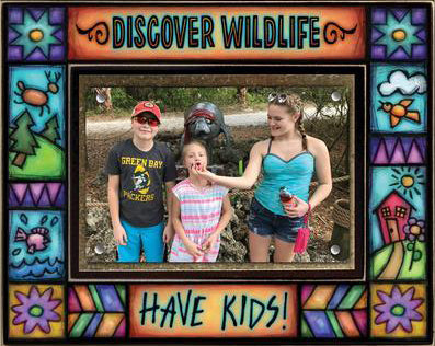Discover Wildlife Large Frame