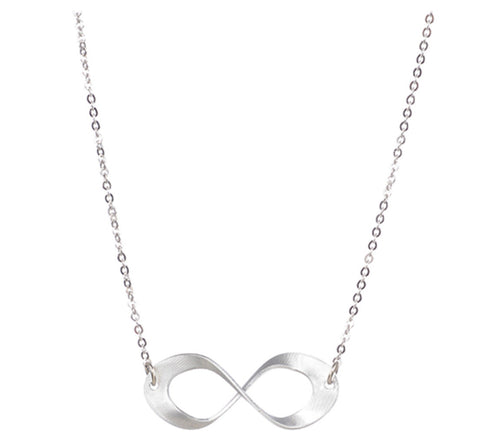 Single Oval Twist Necklace