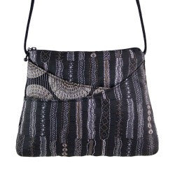 Maruca Sparrow Handbag in Stitch Black