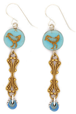 Tres Bird Earrings By Desert Heart