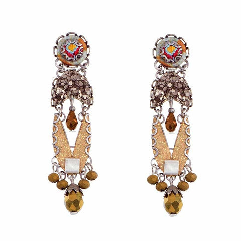 Sgt Pepper Rehana Earrings by Ayala Bar