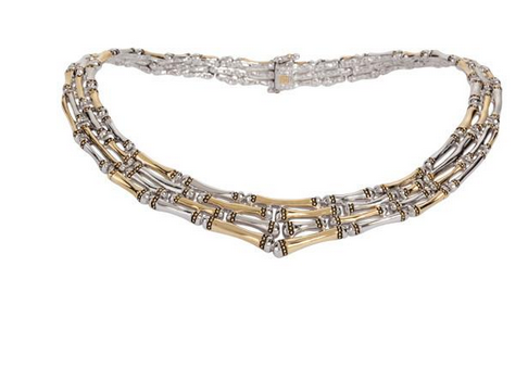 Canias Collection Four Row Necklace by John Medeiros