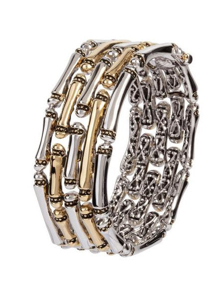 Canias Collection 5 Row Hinged Bracelet by John Medeiros
