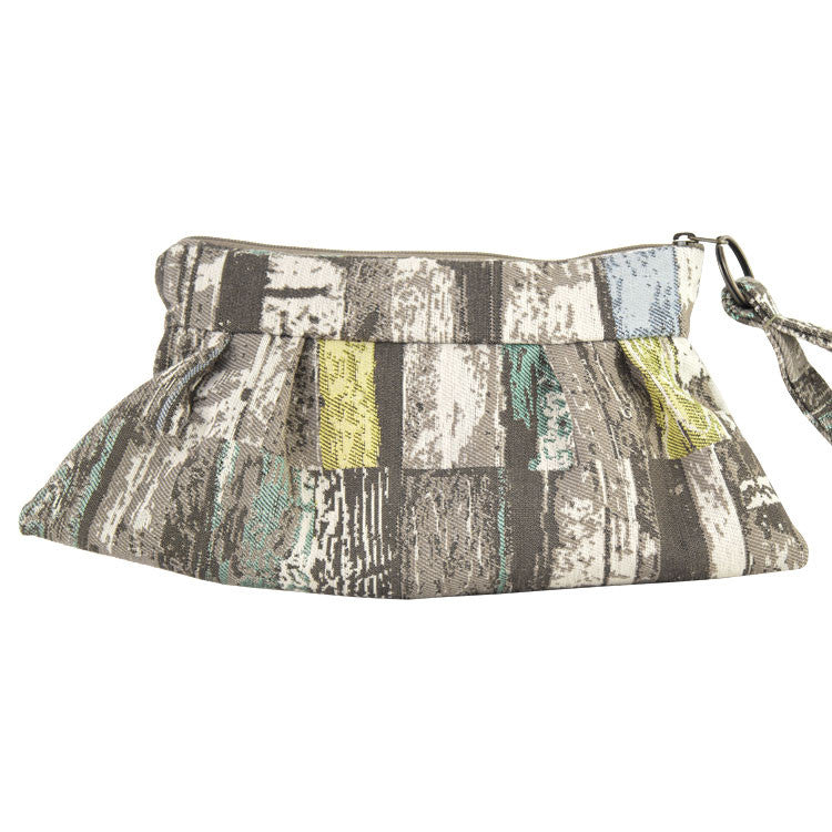 Maruca Chica Wristlet in Planks