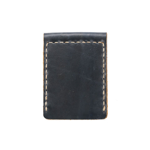 Leather Money Clip Hand Sewn Wallet - Available in Multiple Colors