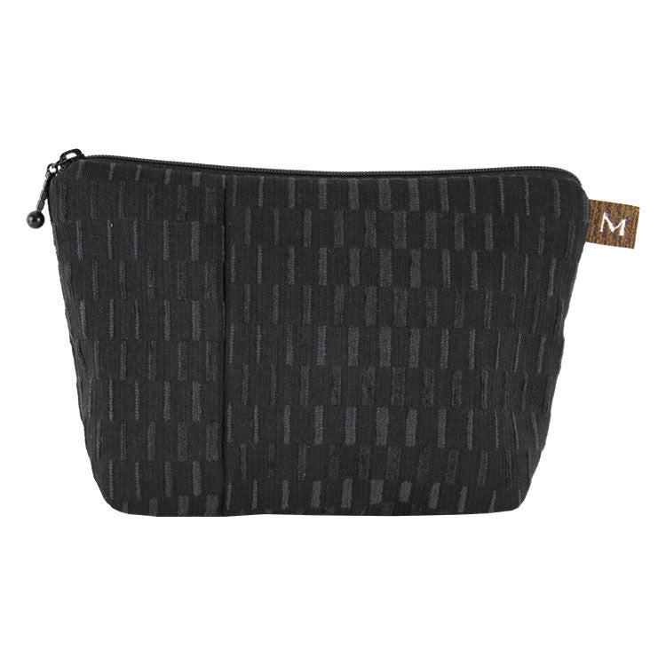 Maruca Cosmetic Bag in Basket Black