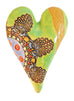 Cirque Medium Heart Ceramic Wall Art