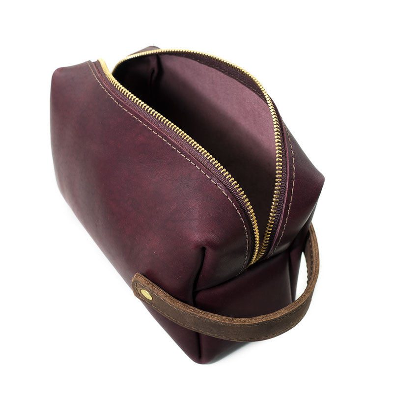 Leather High Line Three Pouch - Available in Multiple Colors